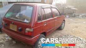 1998, Red Suzuki Mehran (Petrol / CNG ) For Sale, Karachi, By: imran zakir  (Private Seller)