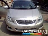 Toyota Corolla for sale located in Lahore
