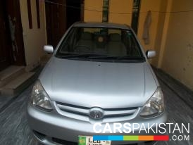 2005, Aqua Silver Toyota Platz (Petrol ) For Sale, Lahore, By: umar  (Private Seller)