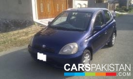 1999, Blue Toyota Vitz (Petrol ) For Sale, Lahore, By: Muhammad Hamza  (Private Seller)