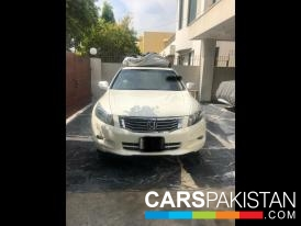 2008, Alpine White Honda Accord (Petrol ) For Sale, Lahore, By: madeel  (Dealer)