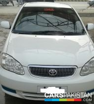 2005, White Toyota Corolla (Diesel ) For Sale, Peshawar, By: khalid  (Private Seller)