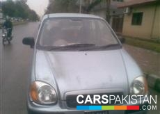 2004, Aqua Silver Hyundai Santro (Petrol / CNG ) For Sale, Rawalpindi, By: Zeeshan  (Private Seller)