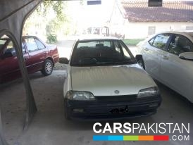 1996, White Suzuki Margalla (Petrol / CNG ) For Sale, Rawalpindi, By: Inam Alvi  (Private Seller)