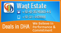 Waqt Estate Banner