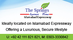 The Springs, Islamabad