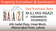 Raazi Estate & Builders Lahore