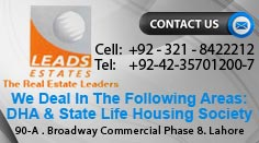 Leads Estate Left Side Banner