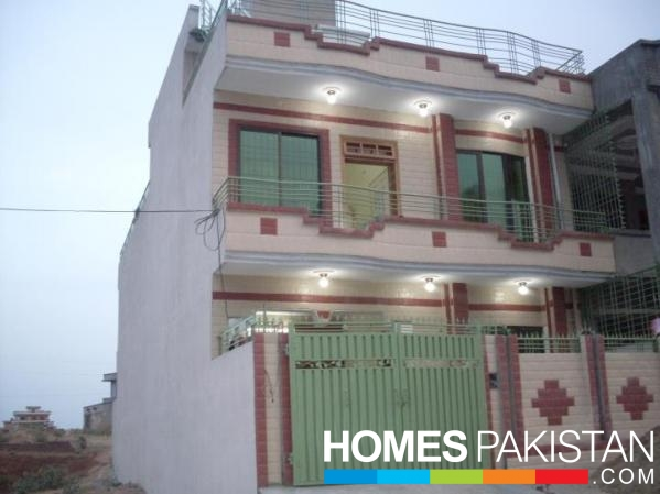8 5 marla 5 bedroom s house for sale mirpur azad for Home designs kashmir