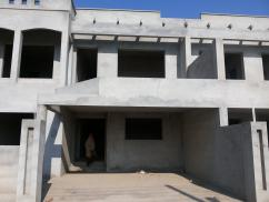 Brand New 7 Marla 4 Bedroom Grey Structure House For Sale in Canal Park