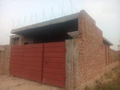10 Marla  Attractive Location House Structure For Sale
