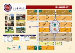 Facing Park 1 Kanal Beautiful Location Commercial Plot For Sale In E-1 Block