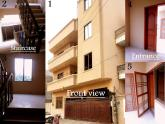 1800 Sq Ft 3 Bedroom First Floor Apartment For Sale in Block A Near Shadab Ground