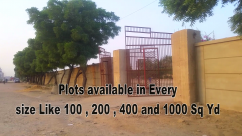 120 Sq Yards Ideal Location Residential Plots For Sale In Ayesha City
