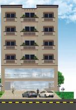 500 Sq Feet 1 Bedroom Best Location Furnished Apartments For Sale In Sector-D Main Boulevard