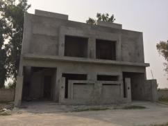 4 Marla 3 Bedrooms Beautiful Location Grey Structure House For Sale