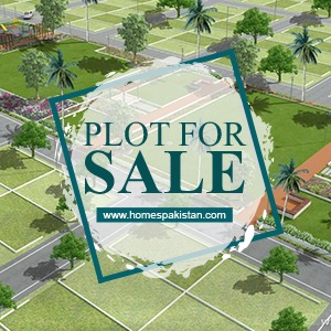 Corner 1000 Sq Yard Residential Plot For Sale on Khayaban E Khalid