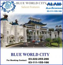 152 Sq Yards Best Location Residential Plot For Sale In Blue World City