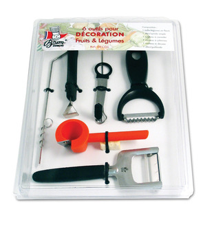 Decoration Set of 6 tools