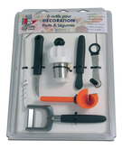 Decoration Set of 6 tools with Turn`up
