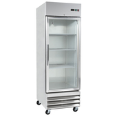 Reach In Fridges with Swing Glass Door