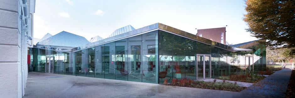 Mediatheque La Madeleine. La Madeleine, France