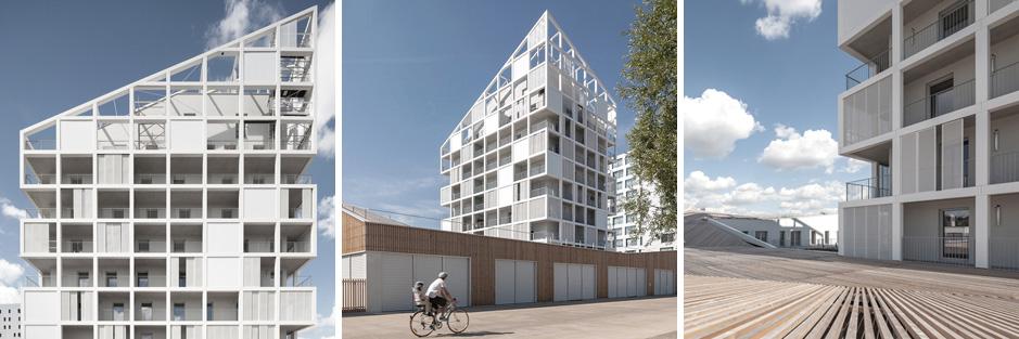Social Housing and Commercial Space in Nantes