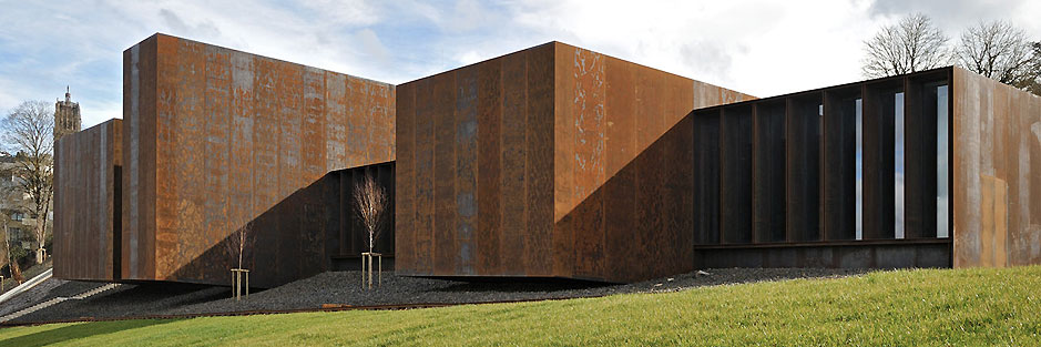 Soulages Museum. Rodez, France