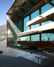 Plinio. Base Nautica per il canottaggio a Torno