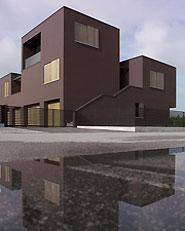 casaLogica - progetto unitario e nuovo edificio residenziale