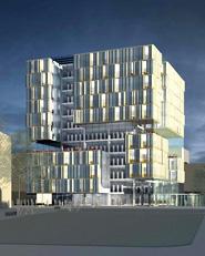 Ersatzneubau Bibliothek und Rotationsgebäude für Lehre und Forschung als Neues Gesicht zur Stadt, Universität Duisburg-Essen