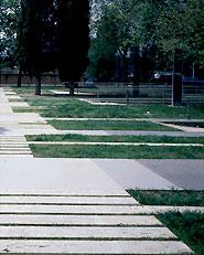 Villaggio Olimpico, Spazi Pubblici