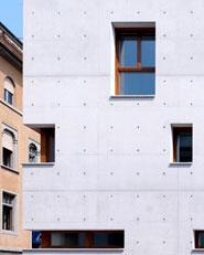 Edificio residenziale e terziario a Bergamo in classe A