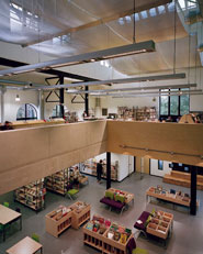 Multimedia Library in an Old Factory