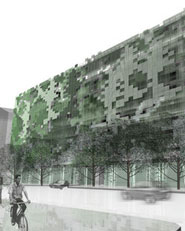 GREEN PARKING BUILDING 