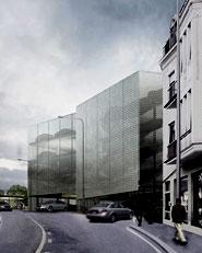 Parking garage Coulinstraße