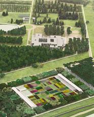 Parco urbano localizzato nella zona dell'ex campo di volo
