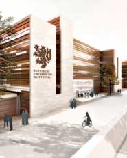 Ersatzneubau der Bergischen Universität Wuppertal