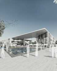 Neubau Campus Leverkusen der Fachhochschule