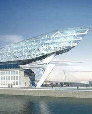 The new Port House, Antwerp, Belgium