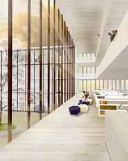 Neubau historisches archiv und kunst und museumsbibliothek