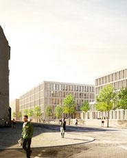 Neubau Historisches Archiv, Kunst- und Museumsbibliothek