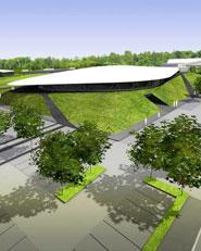 Plavecký bazén a hokejový stadion v Opavě