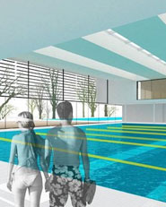 Swimming pool and wellness centre in Kolezija