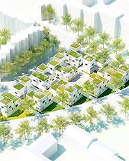 Innovative Wohnformen für Studierende in gemischten Quartieren, Standort Bonn
