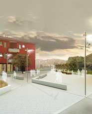 Riqualificazione della piazza Don Benzoni a Tavernerio