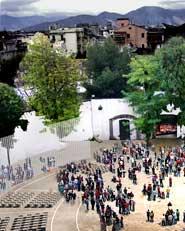 Riqualificazione Piazza Castello e restauro dei locali sottotetto del Castello Baronale. Acerra