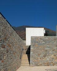 Ampliamento cimitero di Berbenno di Valtellina, Sondrio
