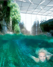 Aquapark in the Alps, Crans-Montana