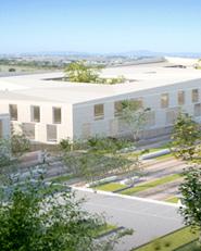 Nuovo complesso  edilizio universitario a Monserrato